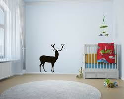 Large Deer Decal Lovely Animal Wall Stickers