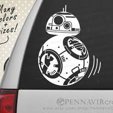 Bb8 Droid Decal Star Wars Good For From Pennavircrafts On