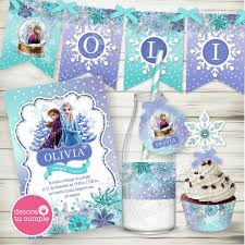 Kit Imprimible Frozen 2 Disney Decora Tu Cumple