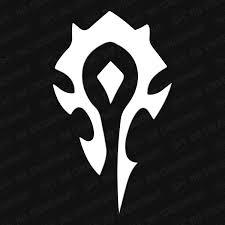 World Of Warcraft Horde Faction Symbol Vinyl Decal The Stickermart