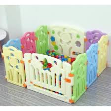 Playpen Play Yard Playground Baby Fence 10 Pieces Shopee Philippines