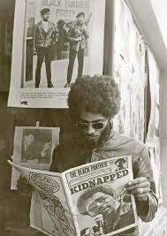 Gill Baker - Aaron Dixon out in front of the Seattle Black Panther Party  office on 34th and Union, 19… | Black panthers movement, Black panther  party, Black panther