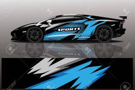 Sport Car Decal Wrap Design Vector Sport Car Decal Wrap Design Royalty Free Cliparts Vectors And Stock Illustration Image 139566189