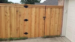 Custom Gate Designs Fence Contractor Plano Tx