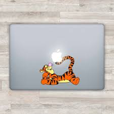 Disney Macbook Decal Pooh Macbook Sticker Winnie The Pooh Etsy