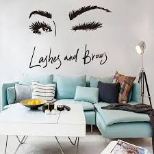 Sexy Long Eyelashes Wall Sticker Art Decals Living Room Sofa Bedroom Wall Background Decorations Stickers Wallpaper Mural Stickers For Home Decoration Stickers For House Walls From Lotlot 2 48 Dhgate Com