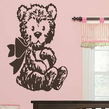 Care Bear Wall Stickers 3d Teddy Pooh Art Archie Polar Brown Paddington Uk For Nursery Vamosrayos