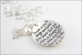 winnie the pooh quote necklace custom date or initials