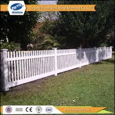 Fb5 China Pvc Plastic White Picket Fences Manufacturer Supplier Fob Price Is Usd 17 91 23 51 Meter