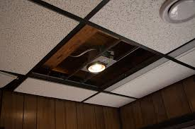diy recessed lighting installation in a
