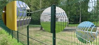 Vinyl And Plastic Powder Coated Wire Mesh Fence