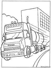 Vrachtwagens Kleurplaten Kleurplaten Eu