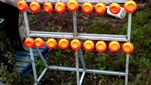homemade shooting target for range or