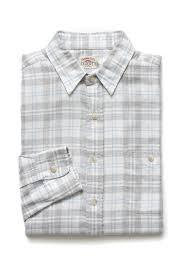 faherty seaview plaid on down shirt