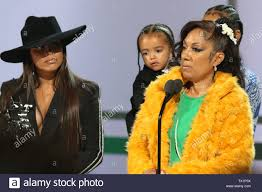Los Angeles, Ca, USA. 23rd June, 2019. Lauren London and Angelique Smith at  the 2019 BET Awards Show at the Microsoft Theater in Los Angeles on June  23, 2019. Credit: Walik Goshorn/Media