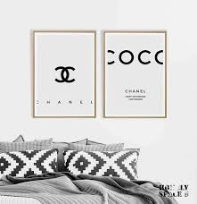 coco chanel prints coco chanel posters