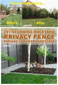 15 Smart Concepts How To Make Backyard Privacy Landscaping Ideas Simphome