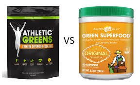 athletic greens vs amazing gr