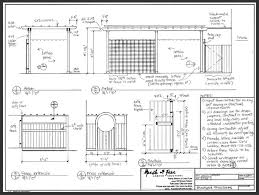 Horizontal Fence Design Plans