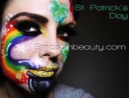 st patrick s day makeup face paint