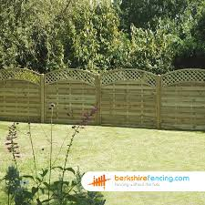 Convex Arched Lattice Top Fence Panels 6ft X 6ft Natural Pn1871 Fence With Lattice Top Fence Panels Lattice Top