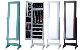 free standing jewelry armoires