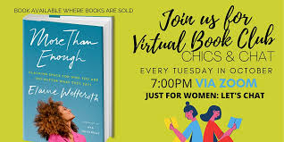 CHICS & CHAT VIRTUAL BOOK CLUB Tickets, Tue, Oct 27, 2020 at 7:00 PM |  Eventbrite