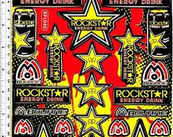 Rockstar Stickers Etsy