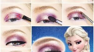 diy disney s frozen elsa eyeshadow
