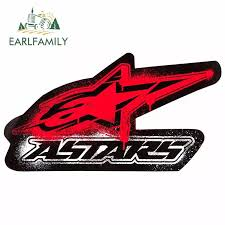 Earlfamily 13cm X 7 2cm Car Stickers For Alpinestars Astar Graffiti Car Sticker Windows Decal Vinyl Material Personality Decor Car Stickers Aliexpress