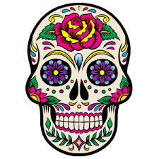 High Quality Calavera Sugar Skull Car Stickers And Decals