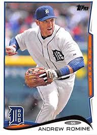Amazon.com: 2014 Topps Update #US-166 Andrew Romine NM-MT Tigers ...