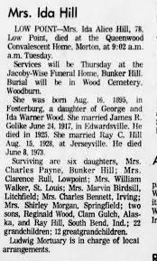 Ida Hill Obituary - Newspapers.com