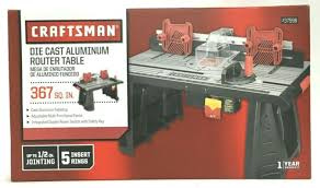 Craftsman Precision Router Table Fence For Sale Online Ebay