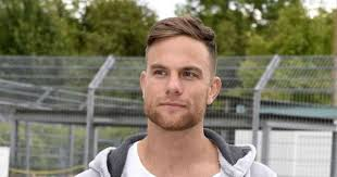 """Ex- """"Bachelor"""" Sebastian Preuss after a motorcycle accident in the hospital  
