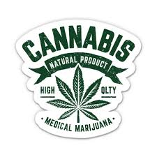 Medical Marijuana Cannabis 3 Vinyl Sticker For Car Laptop I Pad Phone Helmet Hard Hat Waterproof Decal Walmart Com Walmart Com