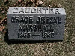 Grace Ida Greene Marshall (1865-1940) - Find A Grave Memorial