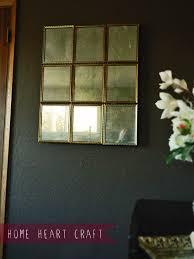 diy multi pane antique mirror with