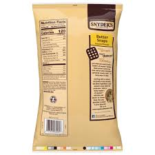 pretzel er snaps 12 ounce bag