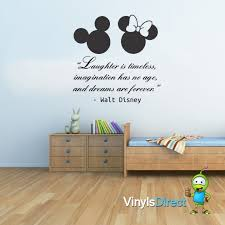 Laughter Is Timeless Disney Quote Wall Sticker Baby Room Decals Baby Room Wall Stickers Disney Wall Stickers