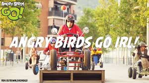 NEW! Angry Birds Go! in Real Life - YouTube