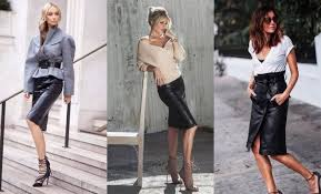 84 leather pencil skirt outfits that ll