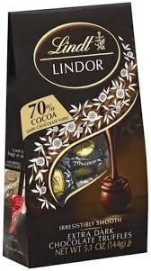 lindt extra dark chocolate 70 cocoa
