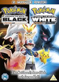 Amazon.com: Pokemon The Movie White - Victini And Zekrom / Pokemon The Movie  Black - Victini And Reshiram [DVD]: Movies & TV