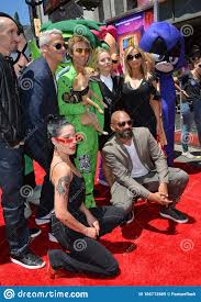 Halsey, Khary Payton, Scott Melville, Greg Cipes, Hynden Walch, Tara  Strong, Kristen Bell & Sam Register Editorial Image - Image of bell, tara:  166712665