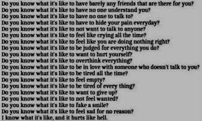 quotes about being depressed quotes