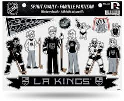 Amazon Com Rico Industries La Kings Family Decal Set Automotive