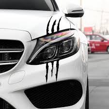 Car Decal Black White Red Reflective Car Car Claw Sticker Stripe Monster Scratch For Opel Astra Vauxhall Mokka Zafira Insignia Car Stickers Aliexpress