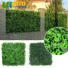 Uland Artificial Fence Hedges Synthetic Boxwood Spiral Tree 3 Sqm Fake Shrub Diy Garden Home Decoration Outdoor Privacy Shade Artificial Fence Hedge Fence Hedgeartificial Fence Aliexpress