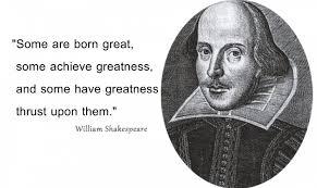 kata mutiara william shakespeare yang menginspirasi banyak